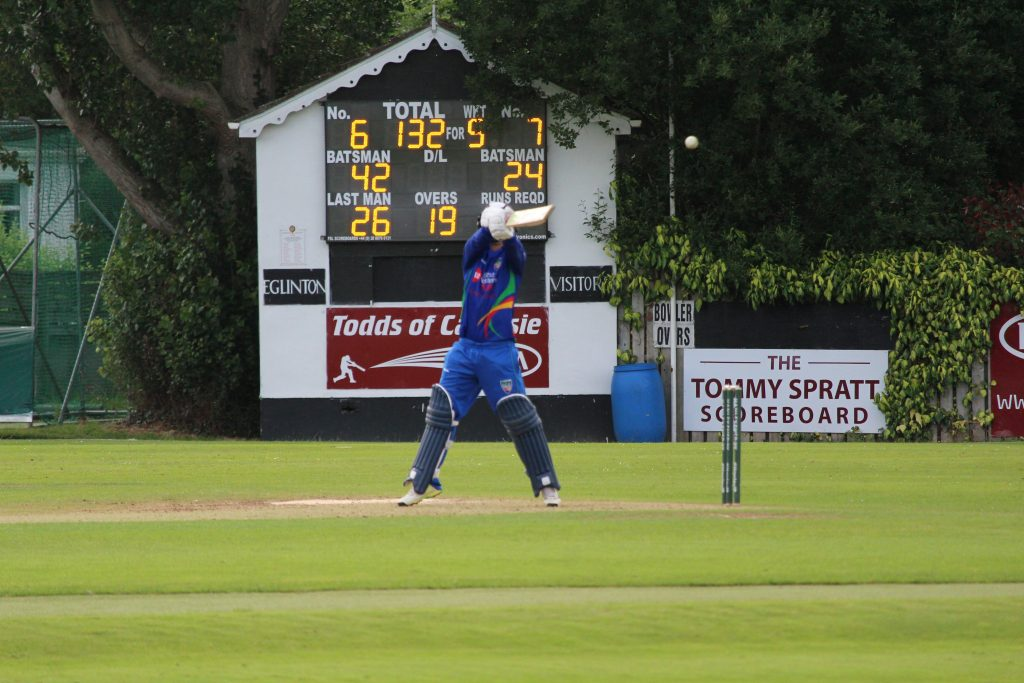 Nwcu Warriors Vs Munster T20 Mcbrine Scoops For Another 4